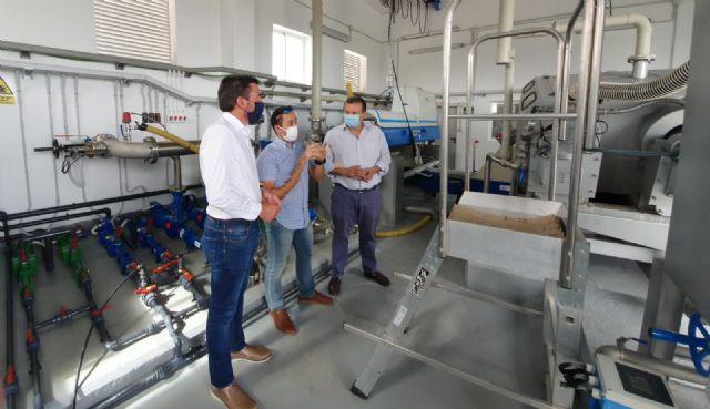 El Gobierno regional invierte 1 millón de euros para mejoras del tratamiento y depuración de aguas en la EDAR de Bullas - 1, Foto 1