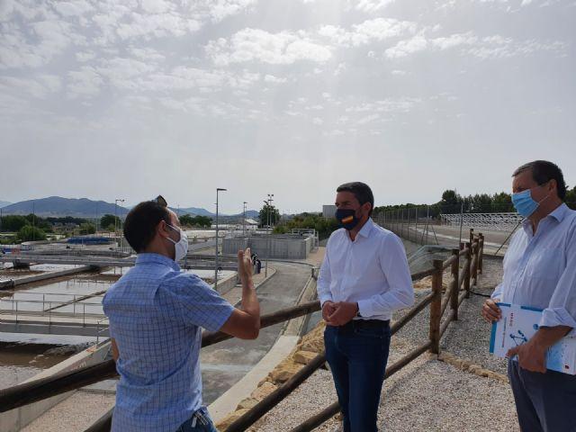 El Gobierno regional invierte 1 millón de euros para mejoras del tratamiento y depuración de aguas en la EDAR de Bullas - 2, Foto 2