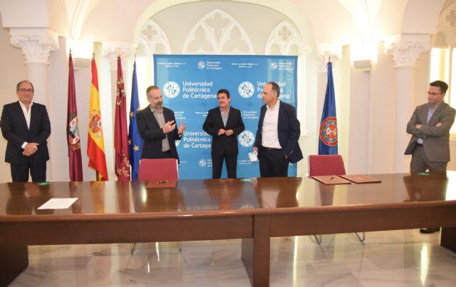 La Fundación SABIC España aporta 23.000 euros anuales para becas y formación de estudiantes de la UPCT - 1, Foto 1
