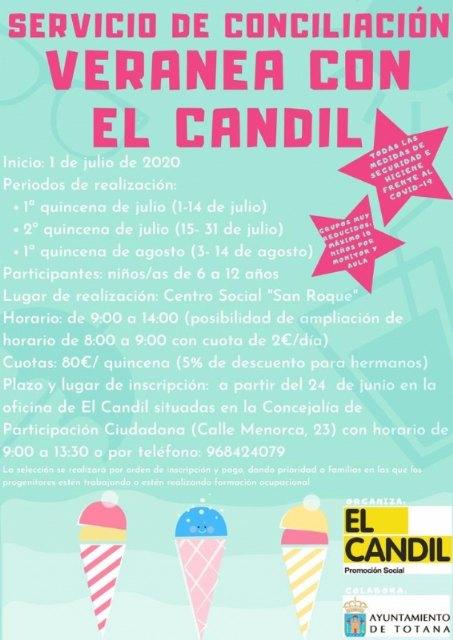 """Ofertan el Servicio de Conciliación """"Veranea con El Candil"""", con tres grupos de diez niños durante diferentes quincenas - 2, Foto 2"""