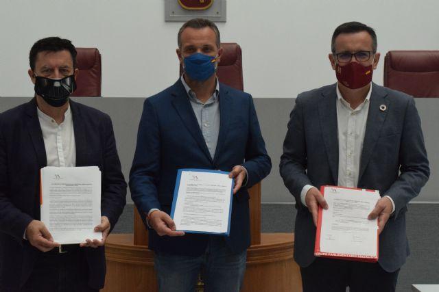 PP, PSOE y Ciudadanos registran las enmiendas a la Ley del Mar Menor - 1, Foto 1