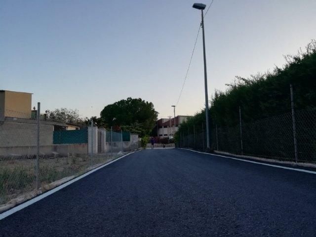 Finalizan las obras de rehabilitaci�n y pavimentaci�n del Camino Cementerio, Foto 3