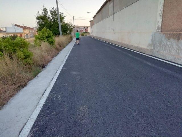 Finalizan las obras de rehabilitaci�n y pavimentaci�n del Camino Cementerio, Foto 5