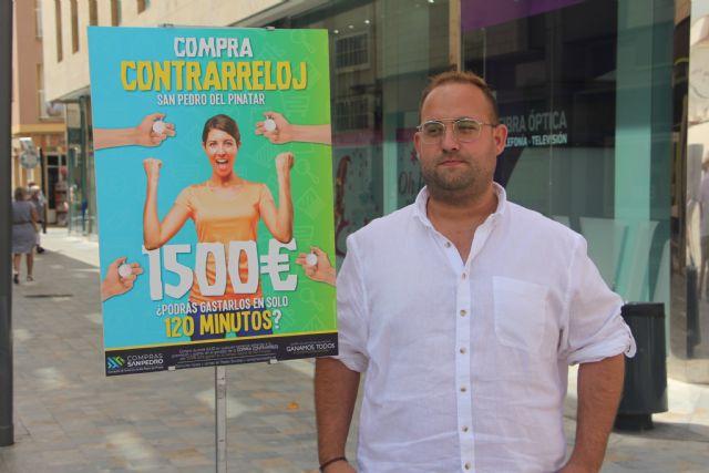 La compra contrarreloj de San Pedro del Pinatar sortea 1.500 euros para gastar en 120 minutos - 1, Foto 1