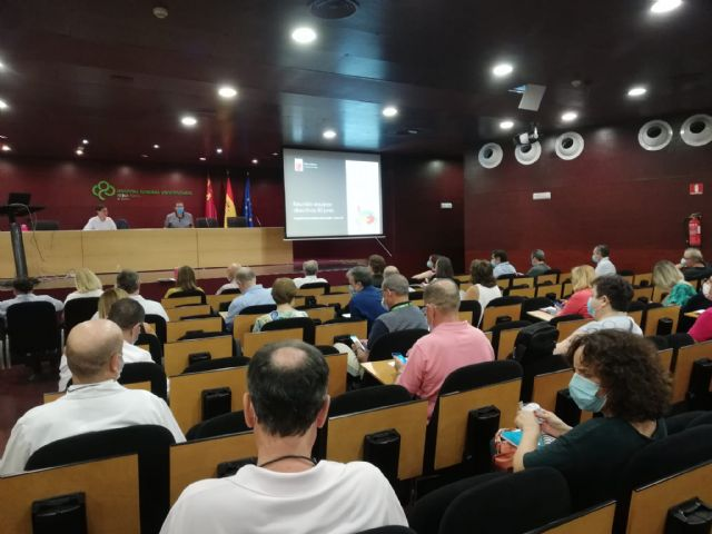 El consejero de Salud preside una reunión de coordinación entre las áreas de salud - 1, Foto 1
