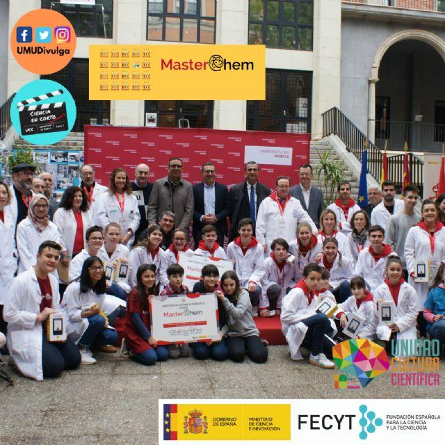 El proyecto MasterChem de la UMU resulta el mejor valorado de toda España por el Ministerio de Ciencia e Innovación para fomentar la educación y las vocaciones - 2, Foto 2