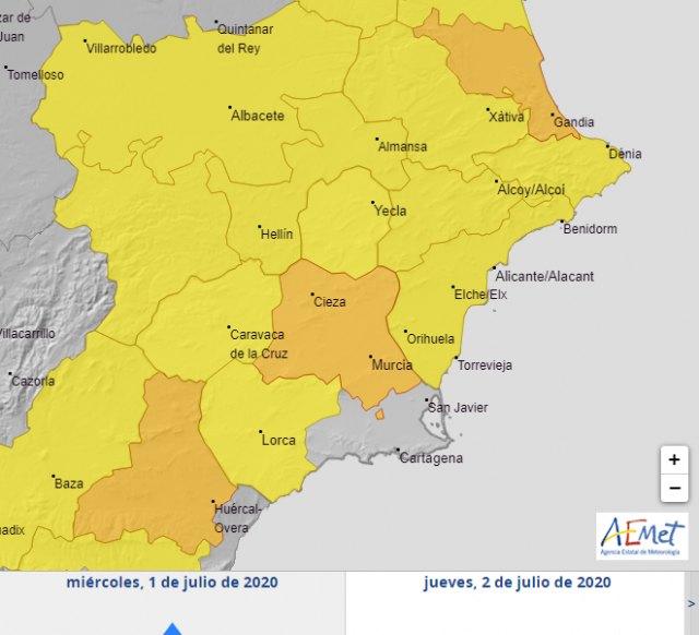Primer episodio de fuerte calor en la Región de Murcia de 2020 - 1, Foto 1