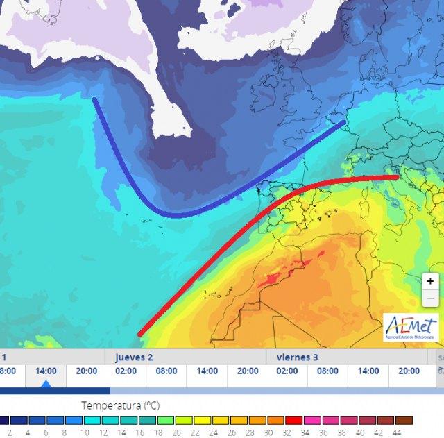 Primer episodio de fuerte calor en la Región de Murcia de 2020 - 2, Foto 2