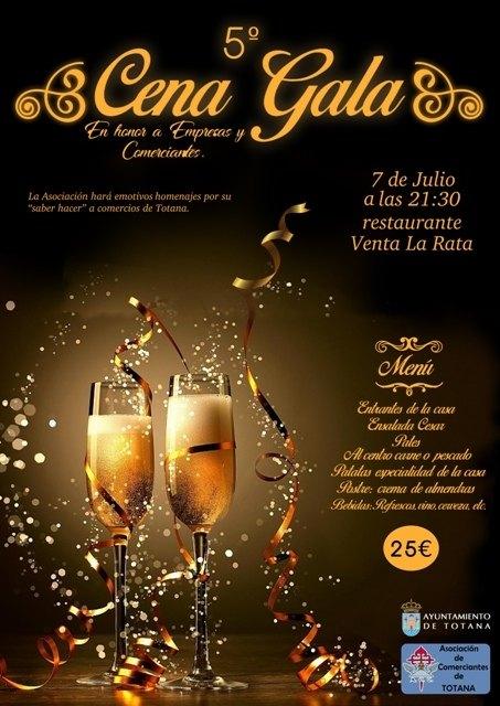La Asociación de Comerciantes de Totana entregó sus premios en el marco de la 5ª Cena Gala - 2, Foto 2