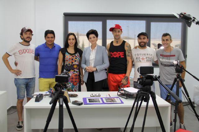 Comienza en Puerto Lumbreras el rodaje del proyecto audiovisual 'Milenials de pueblo' - 3, Foto 3