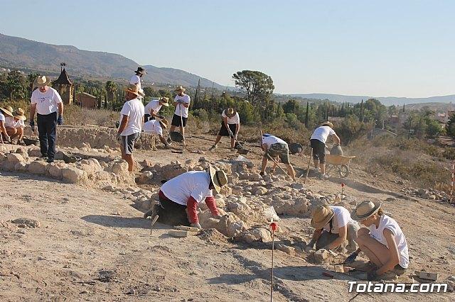 """Unos 20 voluntarios participan en el V Campo de Trabajo Arqueológico de """"Las Cabezuelas"""", que se celebra hasta el 3 de agosto - 2, Foto 2"""