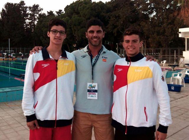 Excelentes resultados del nadador alhameño Pedro Ruano, Foto 2