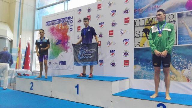 Excelentes resultados del nadador alhameño Pedro Ruano, Foto 5