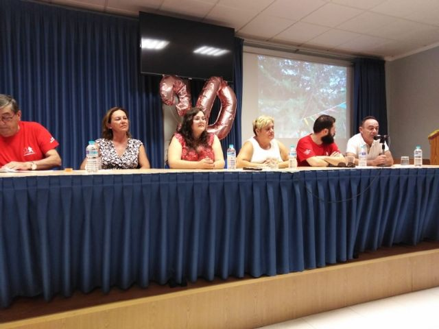 "Municipal authorities attend the closing of the XXX Training Days organized by the Murcian Regional Association of Hemophilia in ""La Charca"""