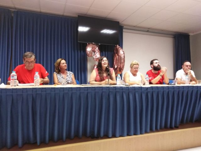 """Municipal authorities attend the closing of the XXX Training Days organized by the Murcian Regional Association of Hemophilia in """"La Charca"""", Foto 4"""
