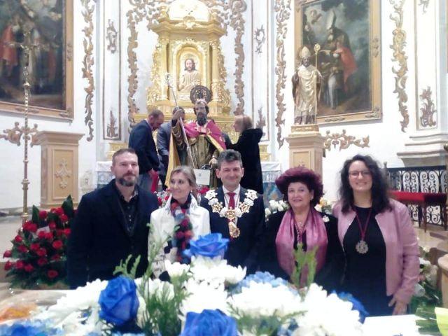 VOX Lorca pide que se inicien los trámites para la restauración de la escultura de San Clemente - 1, Foto 1