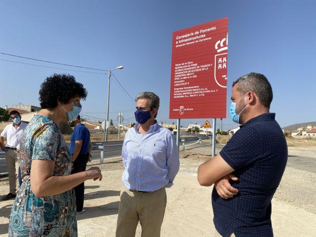 El Gobierno regional iniciará en septiembre las obras de la carretera RM-D17 que conecta Puerto Lumbreras con Almendricos - 1, Foto 1