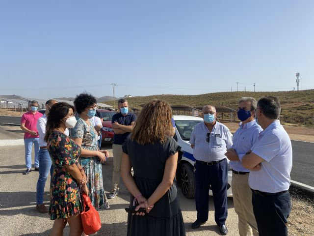 El Gobierno regional iniciará en septiembre las obras de la carretera RM-D17 que conecta Puerto Lumbreras con Almendricos - 2, Foto 2