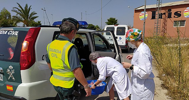 The Residence for the Elderly La Purísima thanks the State Security Forces and Bodies for their work, Foto 3