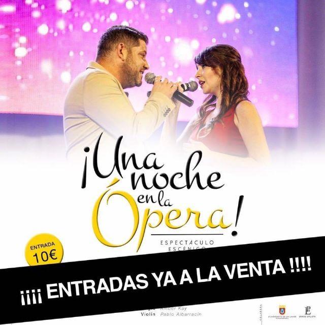 El Trío a Piacere estrena Una noche en la Ópera los días 13 y 14 de agosto en Santiago de la Ribera - 2, Foto 2