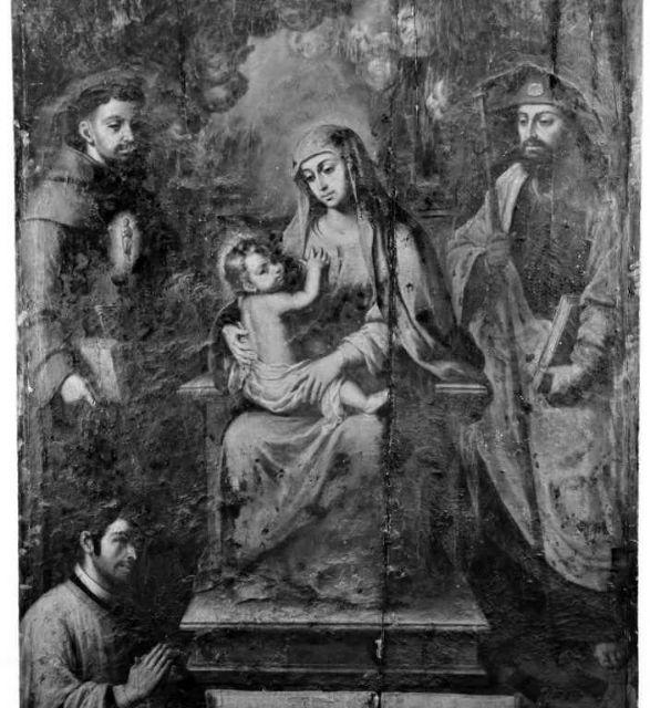 El Cabildo presenta la investigación final sobre la restauración de la pintura (Virgen del Consuelo) - 1, Foto 1