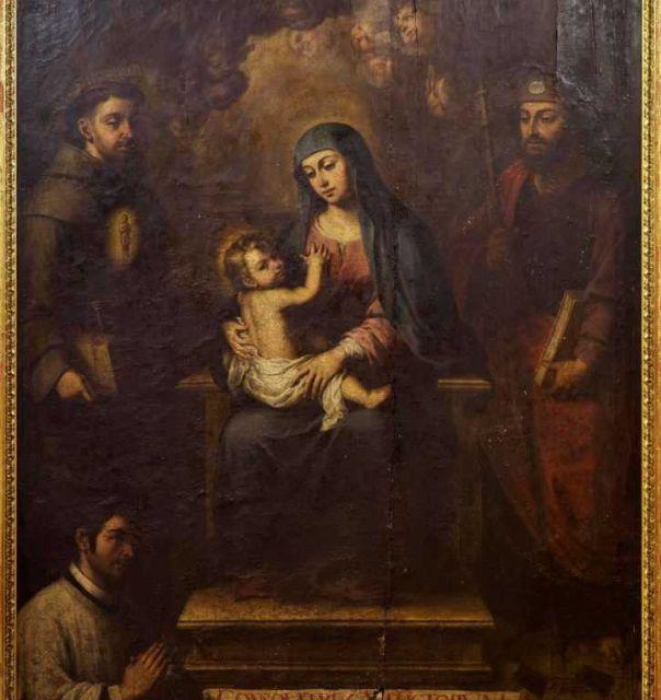 El Cabildo presenta la investigación final sobre la restauración de la pintura (Virgen del Consuelo) - 2, Foto 2