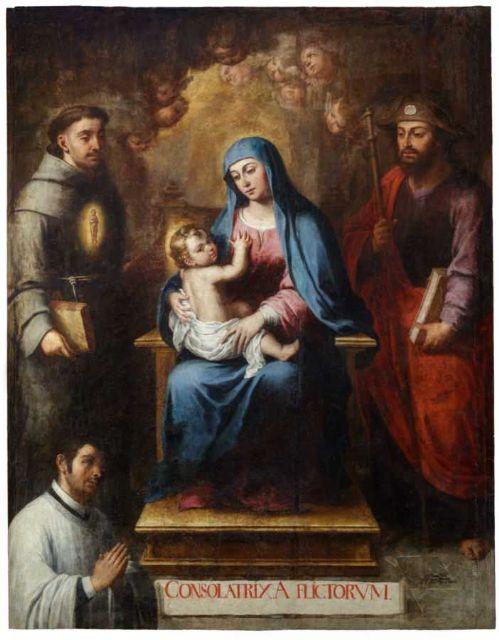 El Cabildo presenta la investigación final sobre la restauración de la pintura (Virgen del Consuelo) - 3, Foto 3