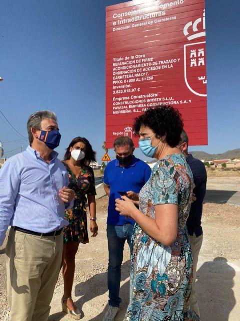 """El PP invierte 3,8 millones de euros en la mejora de la carretera de Almendricos"""" - 3, Foto 3"""