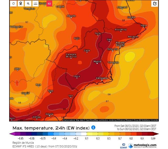 Calor extremo durante los próximos días, Foto 4