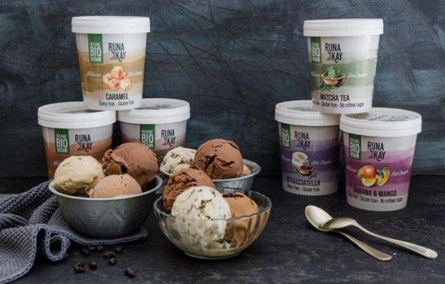 La empresa Murciana Runakay Plus lanza una línea de helados veganos, ecológicos, sin gluten, sin lácteos y sin azúcares añadidos - 1, Foto 1