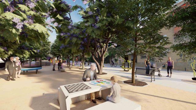 El Ayuntamiento acomete la renovación integral de la plaza del barrio del Carmen y su entorno - 1, Foto 1