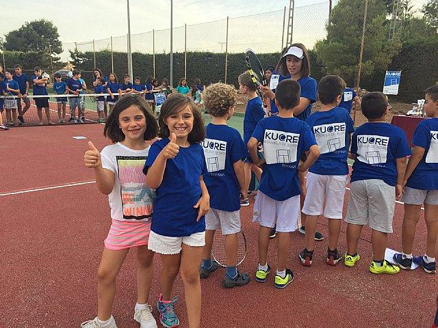 El pr�ximo 5 de septiembre arranca la Escuela de Tenis Kuore en las pistas del polideportivo, Foto 2