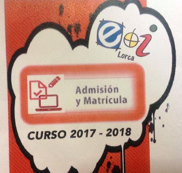 Abierto el plazo de admisión en la extensión de la Escuela Oficial de Idiomas en Totana para el curso 2017/2018 hasta el próximo 5 de septiembre