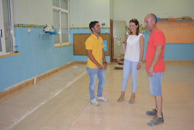 El Ayuntamiento destina casi 90.000 euros para desarrollar mejoras en todos los centros educativos públicos de Águilas - 1, Foto 1