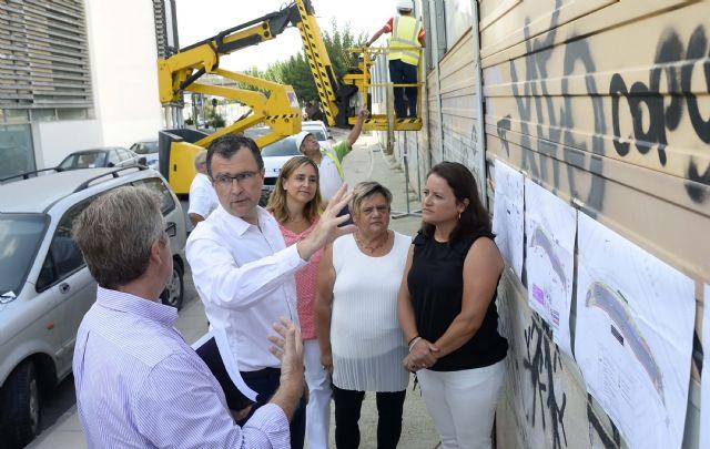 Las 80 plazas del nuevo parking de San Antón estarán a disposición de los murcianos este otoño - 1, Foto 1