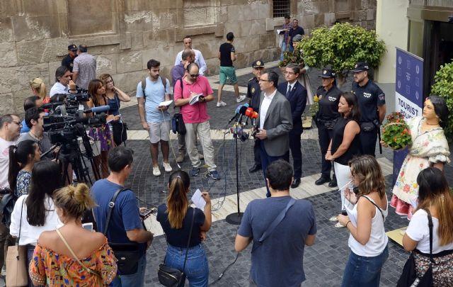 Nace la Policía Turística para consolidar a Murcia como destino internacional seguro y competitivo - 2, Foto 2