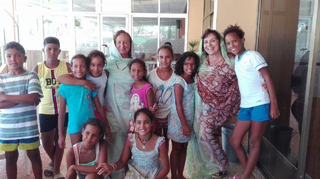 Los niños y niñas del Programa Vacaciones en Paz se despiden de Águilas hasta el próximo verano - 1, Foto 1