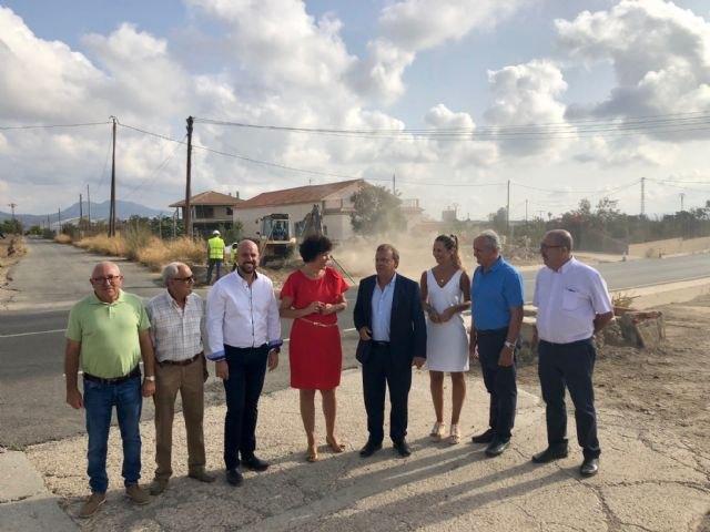 Fomento comienza a construir una glorieta en Puerto Lumbreras para mejorar la seguridad de 1,8 millones de desplazamientos al año - 1, Foto 1