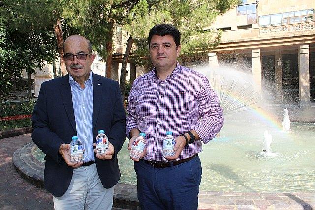 Aquadeus promociona por quinto año consecutivo la Feria de Albacete en las etiquetas de dos millones de botellas de agua, Foto 1