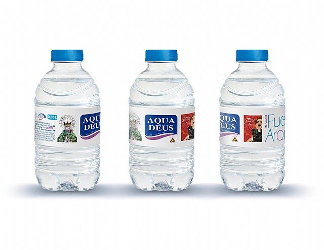 Aquadeus promociona por quinto año consecutivo la Feria de Albacete en las etiquetas de dos millones de botellas de agua, Foto 3