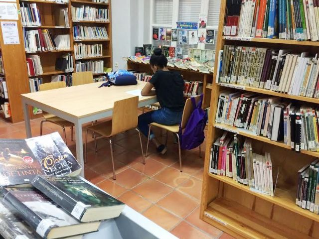 "The ""Mateo García"" Municipal Library returns to its normal morning and afternoon hours starting next September 9, Foto 3"