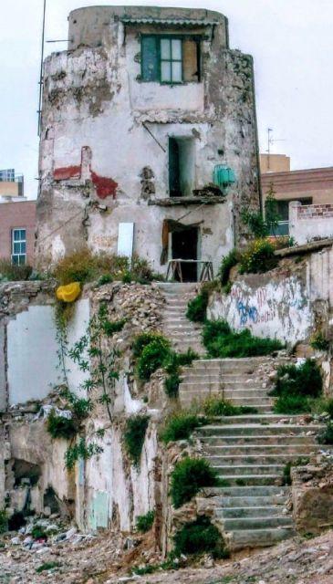 MC reclamará la adecuación del entorno de la Casa Molino del Monte Sacro, recuperado gracias al impulso de la formación cartagenerista - 2, Foto 2