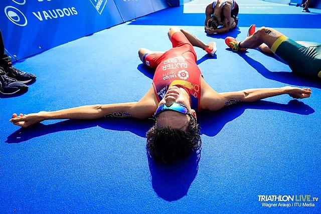 Medalla de Bronce para el totanero Sergio Baxter en el Campeonato del Mundo Júnior de Triatlón