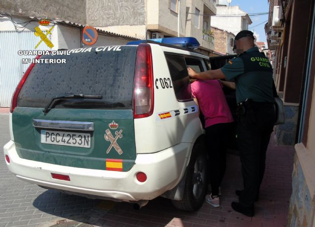 La Guardia Civil detiene a la presunta autora del robo en la cafetería del campo de fútbol de Fortuna - 1, Foto 1