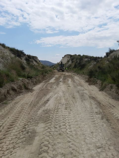 Finaliza la fase de acondicionamiento de la plataforma de la Vía Verde del Chicharra en su tramo por Cieza - 1, Foto 1