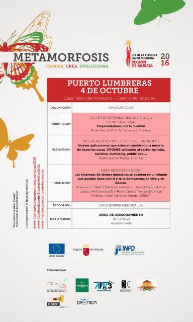 Puerto Lumbreras celebrará el Día de la Persona Emprendedora el próximo 4 de octubre - 1, Foto 1