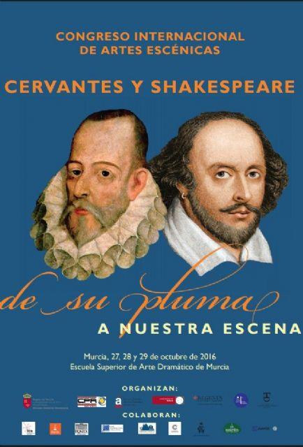 San Javier acogerá la última jornada del Congreso Internacional de Artes Escénicas que la ESAD dedica a Cervantes y Shakespeare - 1, Foto 1