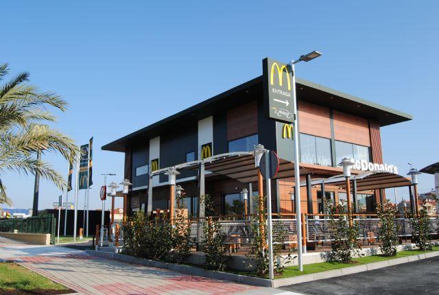 Mcdonald´s abre un nuevo restaurante en la Ciudad de Murcia - 1, Foto 1