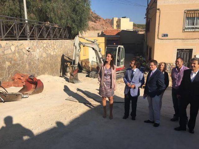 Los 7,5 millones de euros que aporta la Consejería de Fomento para el barrio de San Cristóbal permiten que el Ayuntamiento de Lorca reforme 58 calles más - 1, Foto 1