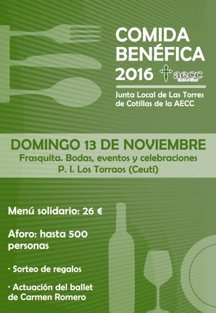 La Junta Local torreña de la AECC celebra una nueva edición de su tradicional comida solidaria - 1, Foto 1